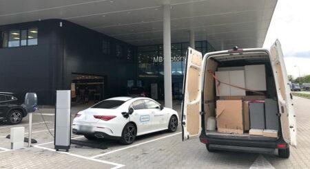 regionalny przewóz towarów